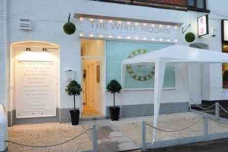 The White Rooms Warwick - Gelish Manicure, Pedicure or Both - Save 57%
