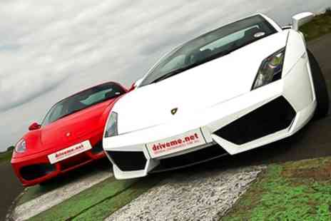 Drive Me - Supercar Driving Experience - Save 55%