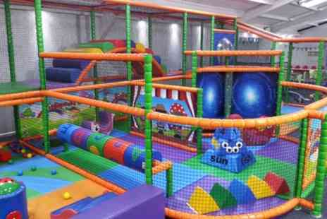 Pipsqueaks Play CAFE - Soft Play for Two  with Juice and Tea or Coffee - Save 49%