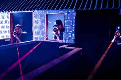 Laser Quest Sunderland - Two Laser Tag Games for Up to Eight  - Save 50%