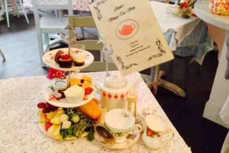 Rosies Vintage Tea Shop - Cream or Vintage Afternoon Tea for Two - Save 0%