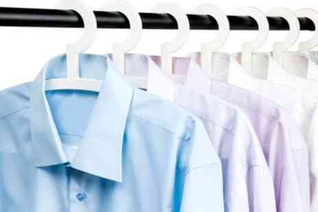 Silk Dry Cleaners - Washing and Ironing of Five Shirts - Save 0%