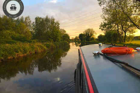Lancashire Canal Cruises - Canal Cruise with Sparkling Afternoon Tea - Save 60%