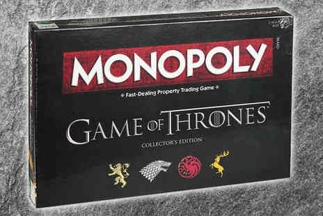 Gems Retail - Game of Thrones Monopoly Game Set - Save 36%