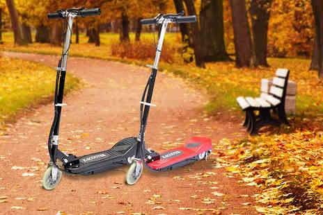Vida XL -   120W electric scooter   - Save 68%