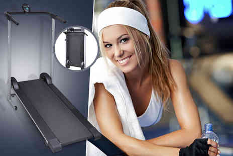 Vida XL - Folding manual treadmill  - Save 53%