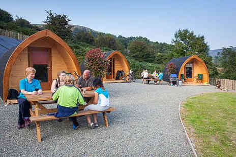 East Coast Adventure - Two Night Stay for Four in a Glamping Pod, with One Day Mountain Bike Rental, and Midday Checkout - Save 50%
