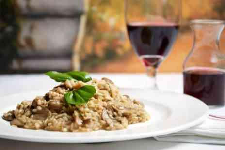 The New Valron - Two Course Meal with a Glass of Wine for Two   - Save 0%