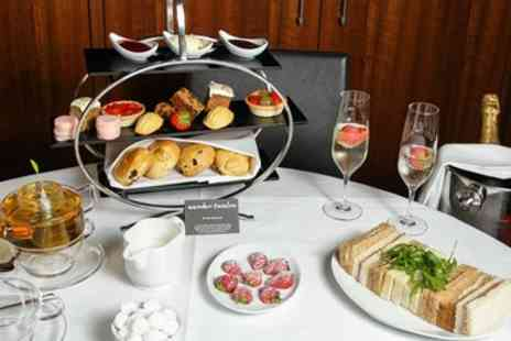 Guidezone -  Afternoon Tea With Champagne or Pimms for Two - Save 59%