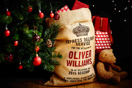36&5  - Personalised Christmas Sack Including Delivery - Save 58%