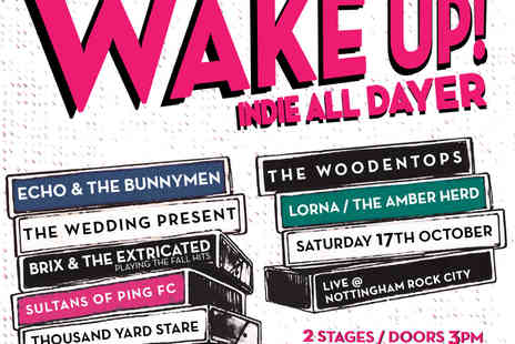 DHP Family - Ticket to Wake Up Indie All Dayer   - Save 0%