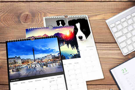Pixa Prints - Personalised A3 photo calendar  - Save 60%