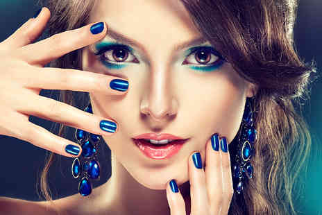 Mi Vida Hair and Beauty - Deluxe manicure and pedicure treatment - Save 70%