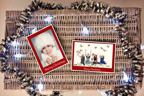 Pearl & Plum Photography - Christmas Photoshoot with Ten Personalised Christmas cards  - Save 0%