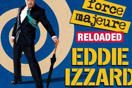Ingresso - Ticket to Eddie Izzard  Force Majeure - Save 0%