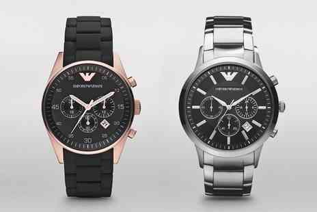 I love watches - Emporio Armani Mens Watch in Choice of Model With Free Delivery - Save 56%