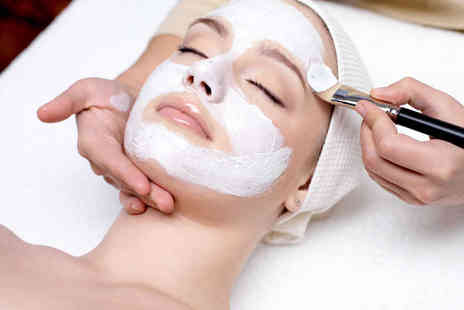 The Beauty Base - Pamper Package with Tension Massage Microzone Facial and Eyebrow Shape - Save 46%