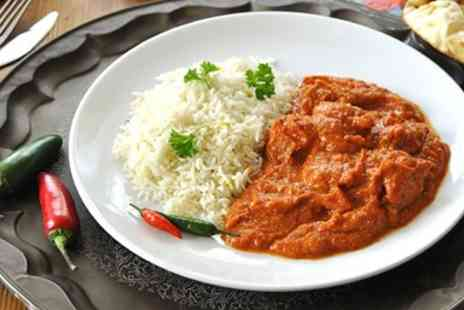 Southern Spice - Three Course Indian Meal & Bottle of Wine for Two  - Save 42%