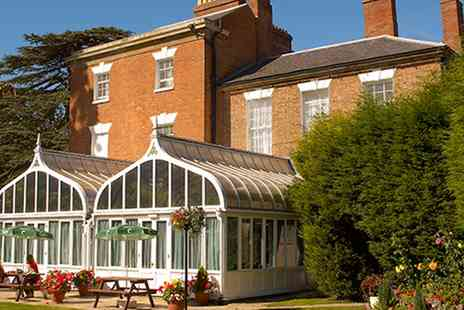 The Glebe Hotel  -  Warwickshire Country House Stay with Dinner & Bubbly - Save 44%