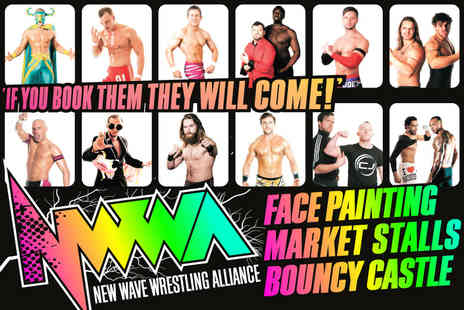 New Wave Wrestling Alliance - Family ticket to see a live match from New Wave Wrestling Alliance on the 7th November 2015   - Save 70%