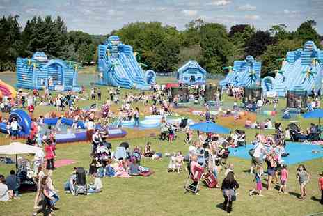 Fantastic Inflatable World - Fantastic Inflatable World Ticket For One Person or a Family of Four, 24 October to 1 November - Save 0%