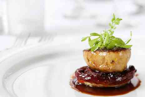 The Earl of March - Three Course Meal with Glass of Bubbly for Two or Four  - Save 0%