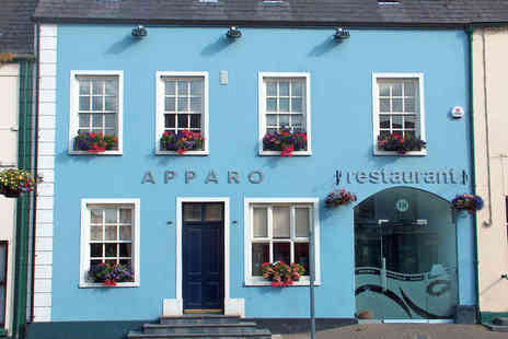 Apparo Restaurant and Boutique Accommodation - One or Two Night Stay for Two with Breakfast Daily and a Bottle of Wine if Dining   - Save 47%