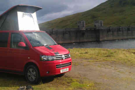Rockin Vans - VW Campervan Hire for 4 with Unlimited Mileage  - Save 56%