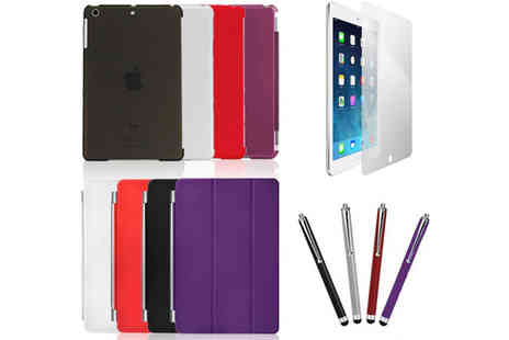 Bibi International - iPad Air Magnetic Smart Case Bundle - Save 74%