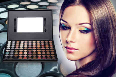 Quick Style - 88 colour mirrored eyeshadow palette in a choice of two colours - Save 93%