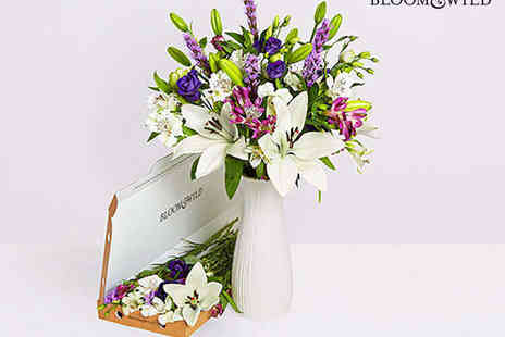 £5 Letterbox Flower Bouquet - Monthly Flower Subscription First Box with Delivery Including - Save 67%