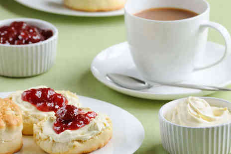 Rambling Rose Restaurant - High Tea with Main Course Tea  and Scones Each for Two - Save 38%