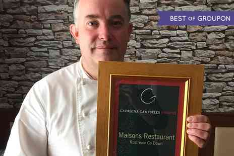 Maisons By Raymond McArdle - Seven Course Tasting Menu for One - Save 0%