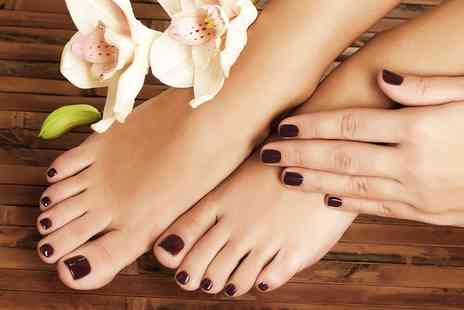 Antonia Gilchrist Beauty - One hour session of Signature Manicure and Pedicure - Save 55%