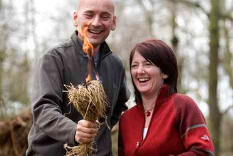 Woodland Survival Crafts - Full Day Bushcraft Experience - Save 55%