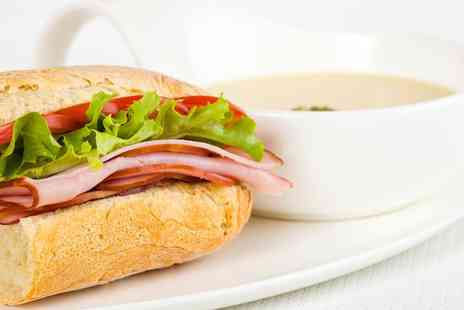 Star Bistro Ruthin - Soup and Sandwich For One - Save 52%