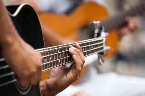 In Light Music Media Art - Three One Hour Guitar Lessons for One  - Save 65%