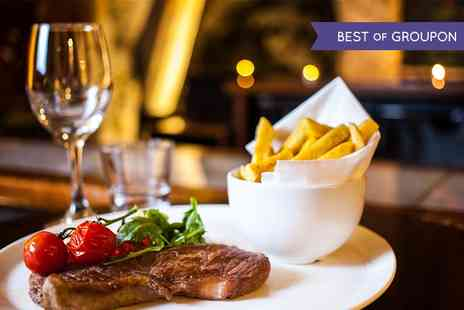 The George Vaults - Sirloin Steak Meal with Sides for Two  - Save 50%
