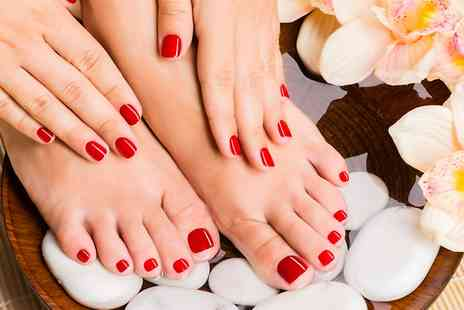 Stephanie Nicholls - Shellac Pedicure or Manicure  - Save 60%