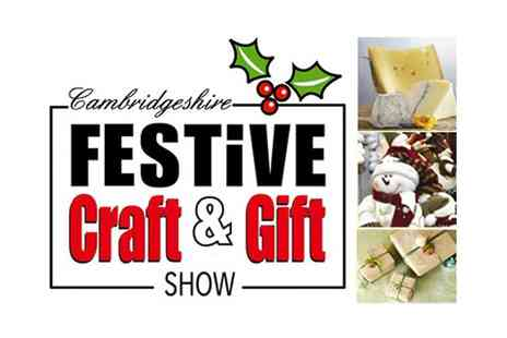 Aztec Events - The Cambridge Festive Food and Gift Show on 21 to 22 November - Save 53%