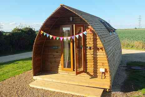 Wigwam Holidays - Self Catering Wigwam Stay For Up to Four With BBQ, Fire Pit And Tennis Access - Save 49%