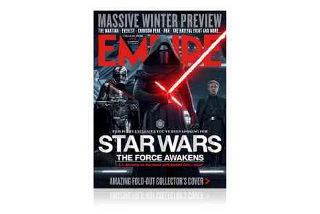 Bauer Consumer  Media - 12 Month Empire Magazine Subscription With Free Delivery - Save 56%