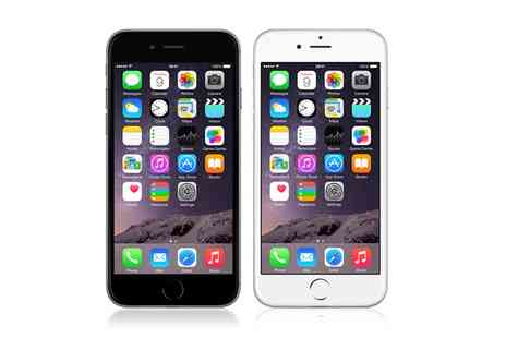 Mobile Phones Direct - Apple iPhone 6 16GB on a 24 Month Contract, Unlimited Minutes, Texts, 5GB Data,Free Delivery - Save 81%