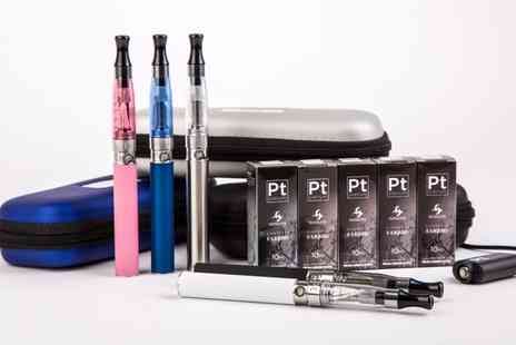 Phoenix Direct - PT Hansen E Cigarette Starter Kit With Five E Liquids in Choice of Flavour  With Free Delivery - Save 0%