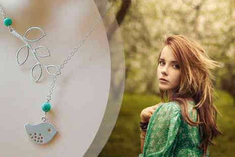 CFS Trading - Branch and Bird Necklace - Save 61%