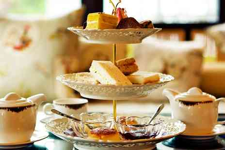 Samlesbury Hotel - Champagne Afternoon Tea for Two - Save 56%