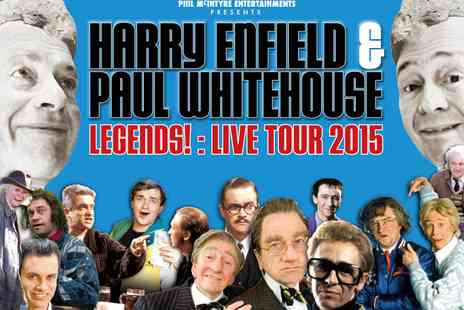 Ingresso - Harry and Paul Legends Tickets Harry Enfield and Paul White house - Save 50%