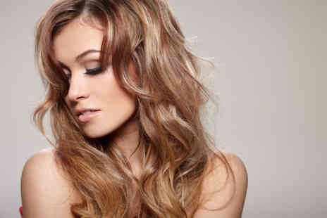 Carolines Beauty Salon - Half head of highlights or full head of colour, plus a deep conditioning treatment, cut and blow dry  - Save 83%