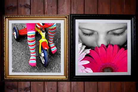 ARTF.LY - Framed 25cm x 25cm photo canvas print  - Save 0%