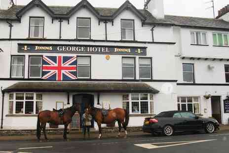 The George Hotel - One to Three Nights stay For Two With Breakfast - Save 46%